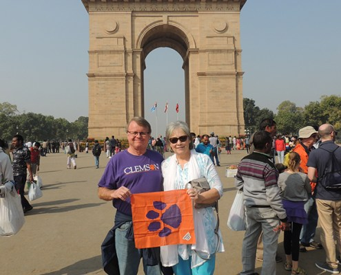 India: Timmy O. Barr '71