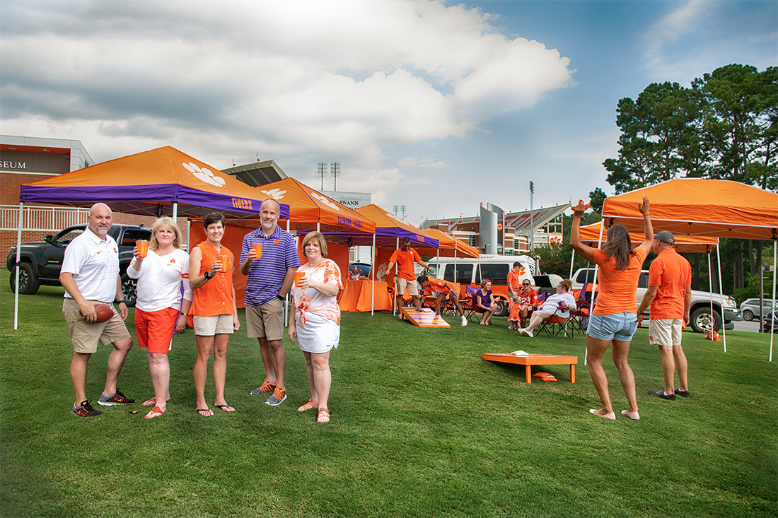 7eb62b9c496b Clemson World Magazine | A Tiger's Guide to Tailgating