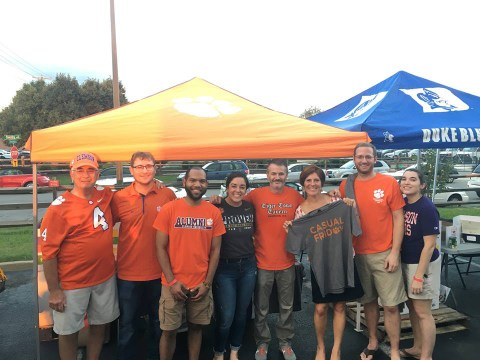 Richmond Clemson Club Food Drive