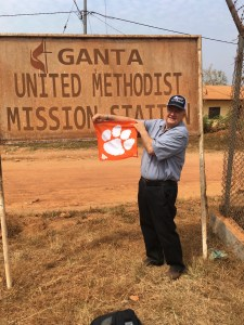 Liberia: Phil Reynolds '84 on an agricultural mission trip to Liberia through Mt. Horeb United Methodist Church in Lexington, S.C.