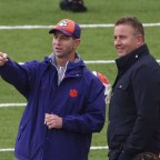(WATCH) Dabo Swinney Absolutely Against Idea Of Pushing Playoff Back For B1G Pac-12