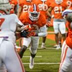 Freshman Running Backs Impressing Early On in Clemson Spring Practice