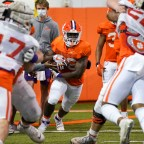Clemson Running Back Room Full of Talent, Depth, and Physicality