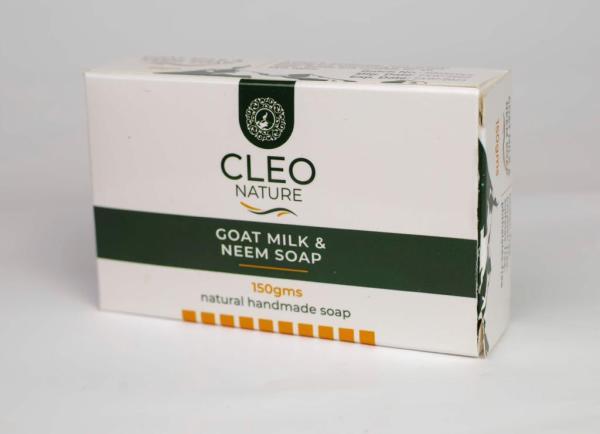 Goat Milk soap with Neem
