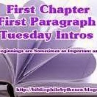 First Chapter ~ First Paragraph (March 28)