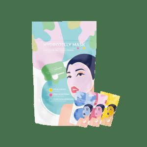 L'hydrojelly mask collection, un sachet contenant 3 sachets de jelly mask