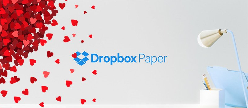 Online collaboration tool Dropbox Paper