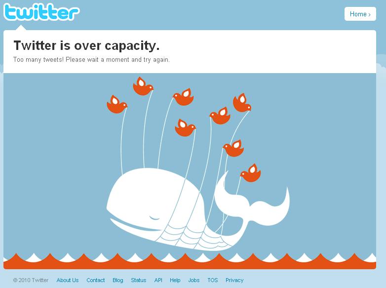 never rely on social media