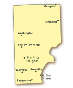 Clerk Districts Maps Macomb County