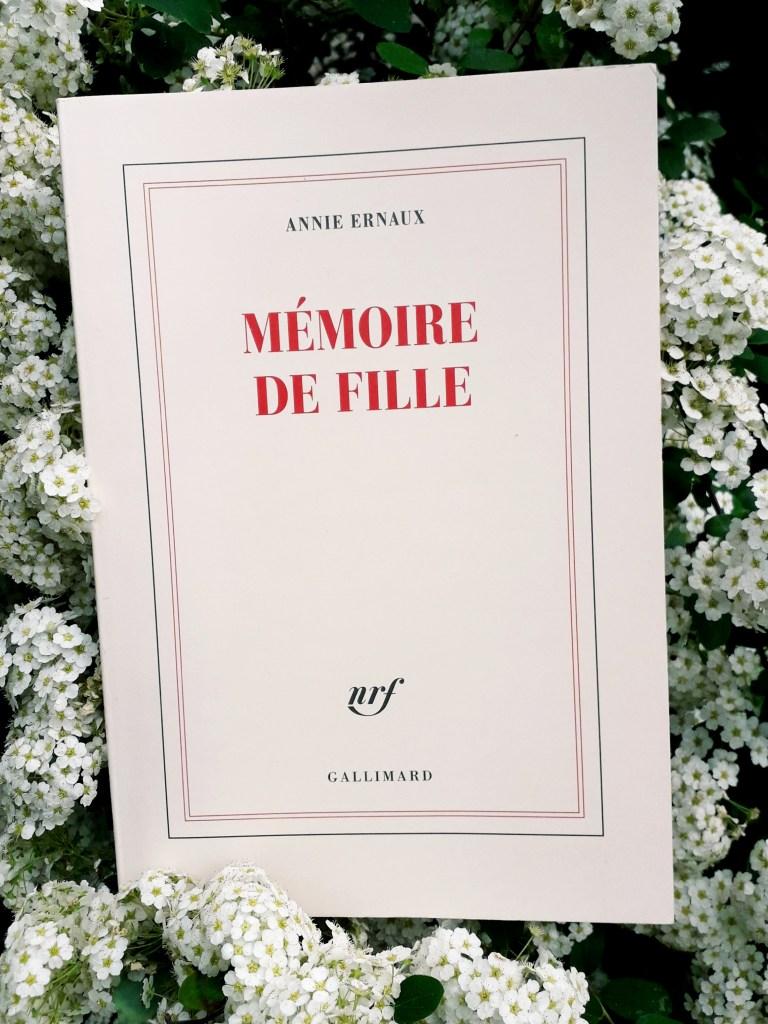 Mémoire De Fille Annie Ernaux : mémoire, fille, annie, ernaux, Annie, ERNAUX,, Mémoire, Fille, Notes, Critiques, Clés, Bibliofeel