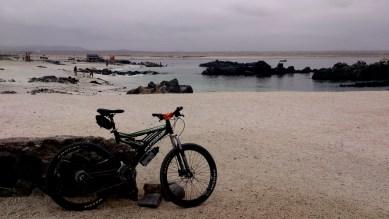 Vista matinal de la playa principal de Bahía Inglesa