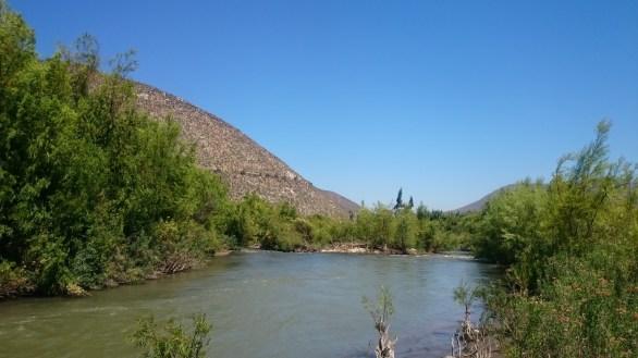 Un reparo del rio choapa