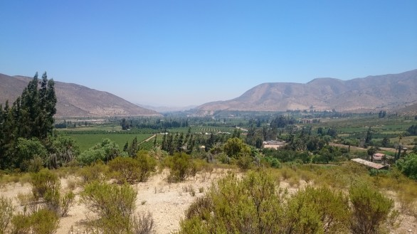 Vista sobre Chuchiñi