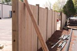 Installing the New Fence