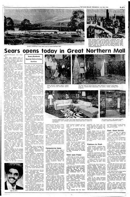 Great Northern Mall Stores : great, northern, stores, Great, Northern, Sears,, Sears, Ohio,, Closing, Cleveland.com