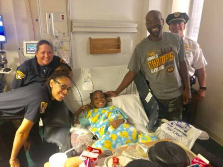 Cleveland Cops for Kids at MetroHealth