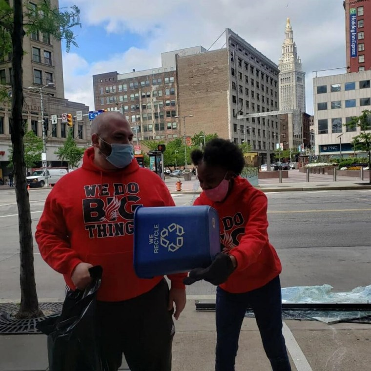 Downtown Cleveland Cleanup 2