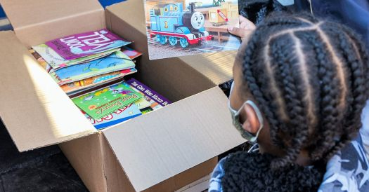 donations of books to children in cleveland