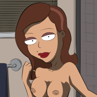 Not only Donna or Roberta has big boobs in this series!