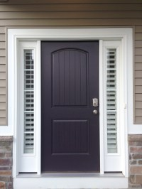 Entry Door Sidelight Window Shutters
