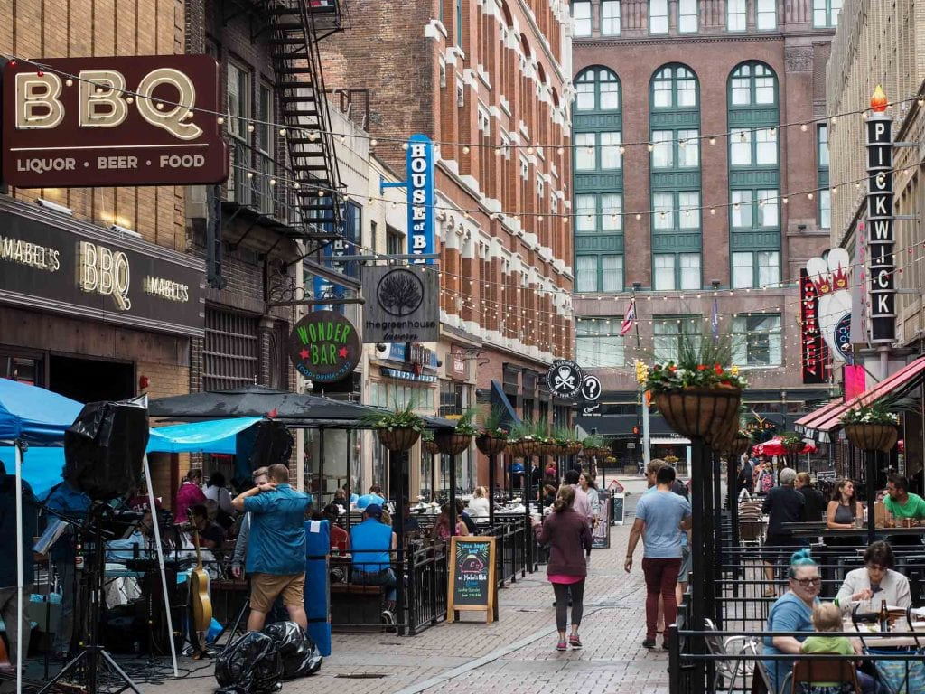East 4th Street in Cleveland