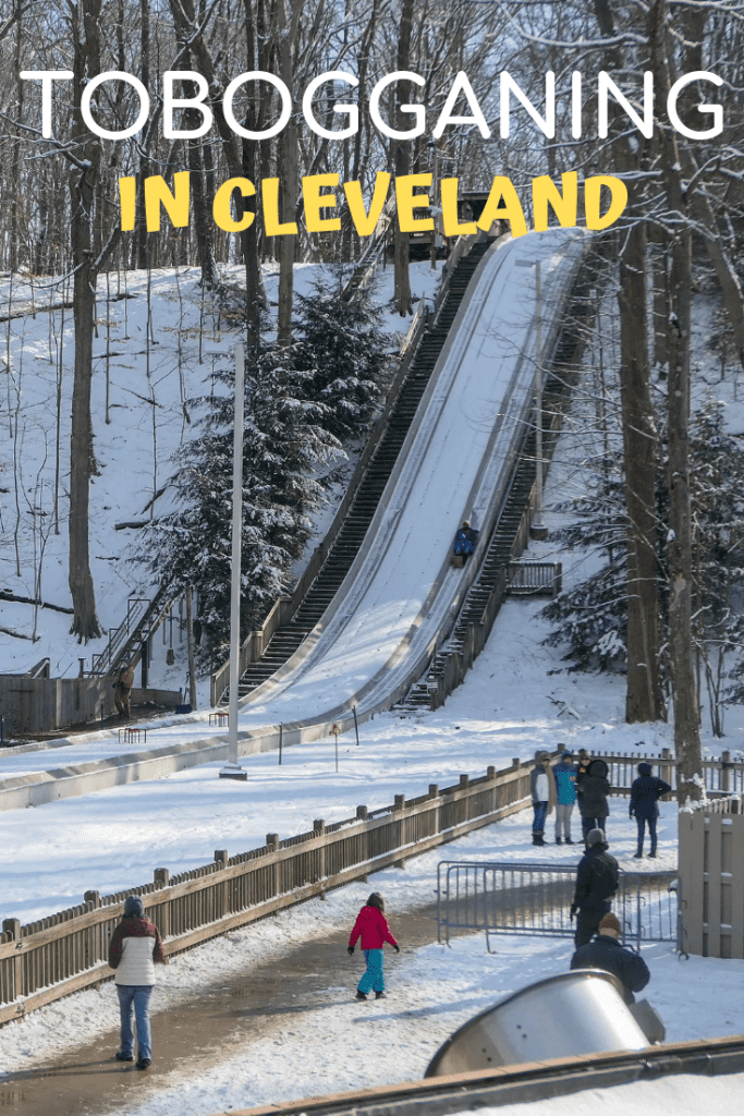 Tobogganing at the Chalet in Strongsville