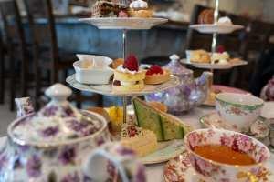 Afternoon tea at Macaron Tea Room