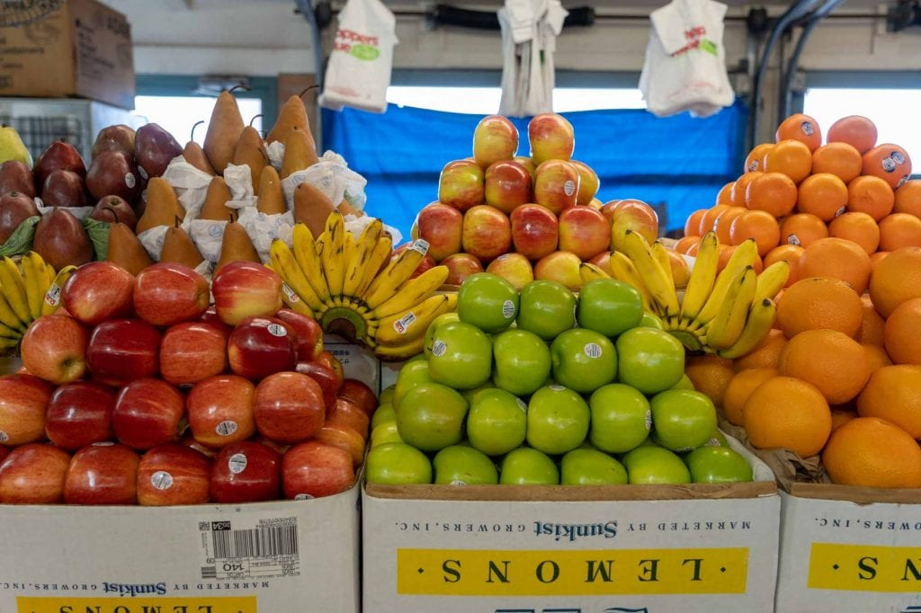 Produce at West Side Market