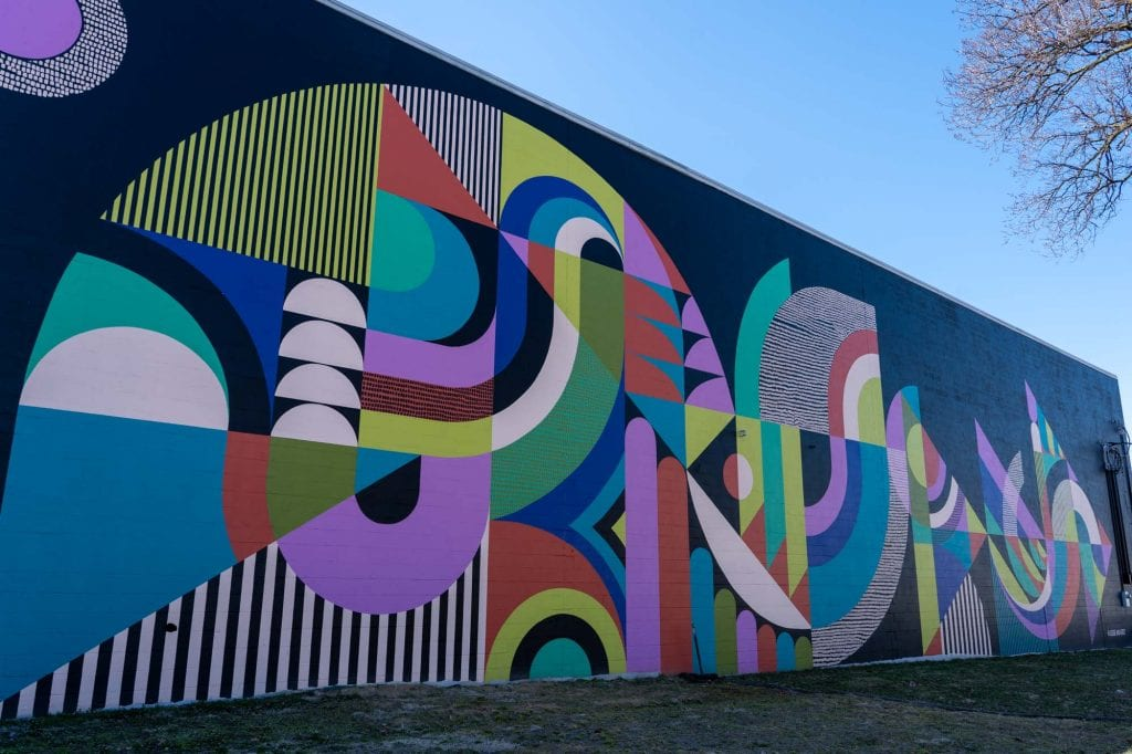 Gordon Square mural