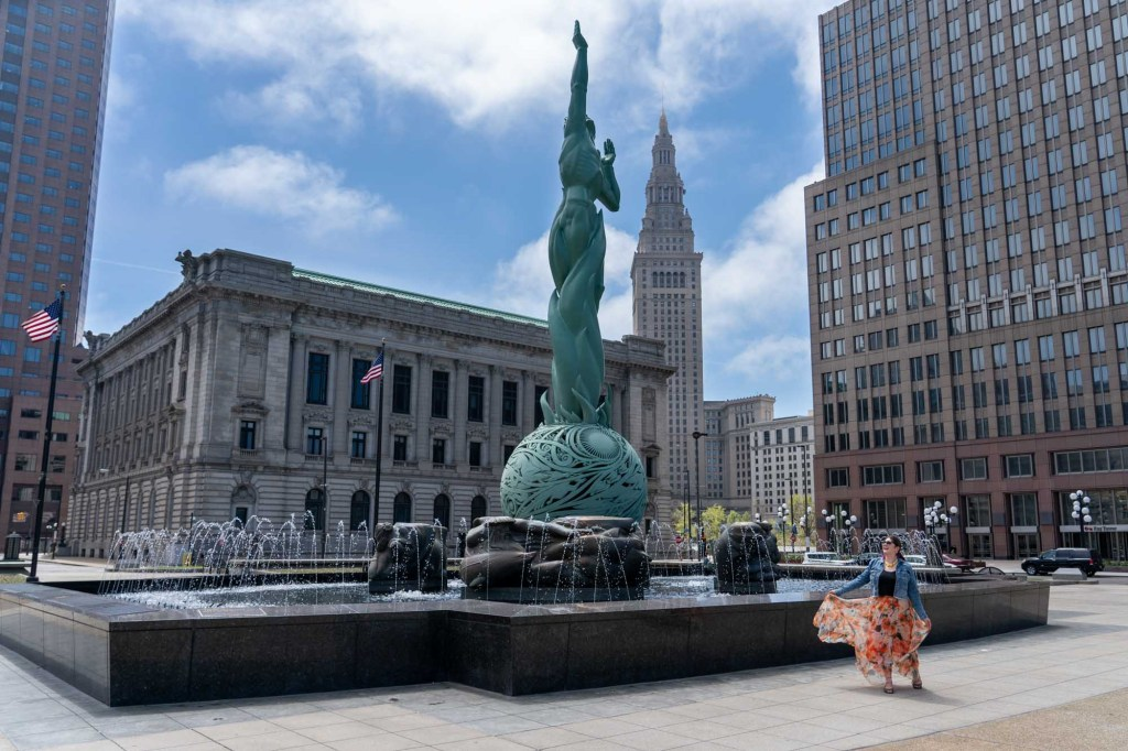 Fountain of Eternal Life in Cleveland