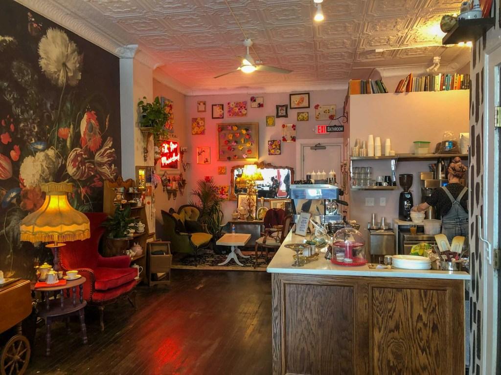 Inside Brewella's in Lakewood