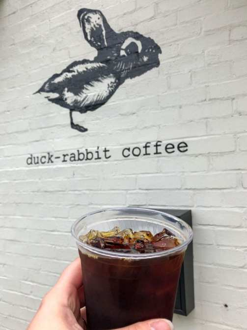 duck-rabbit cold brew coffee