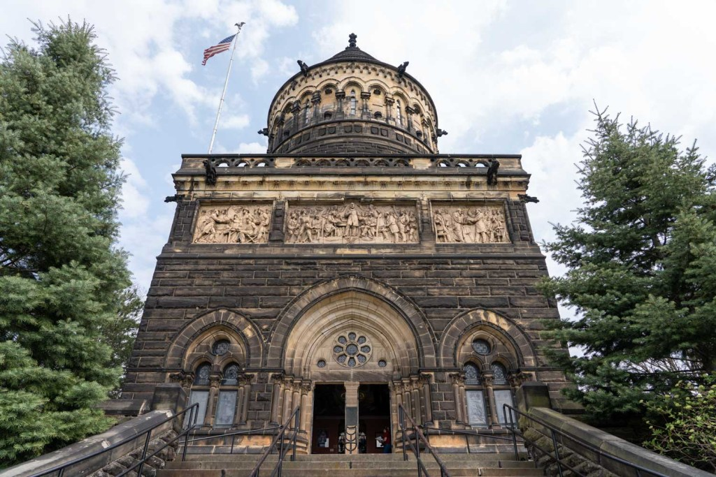James A. Garfield Memorial at Lake View Cemetery