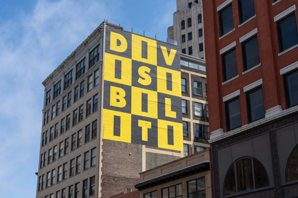 Divisibility mural in Cleveland