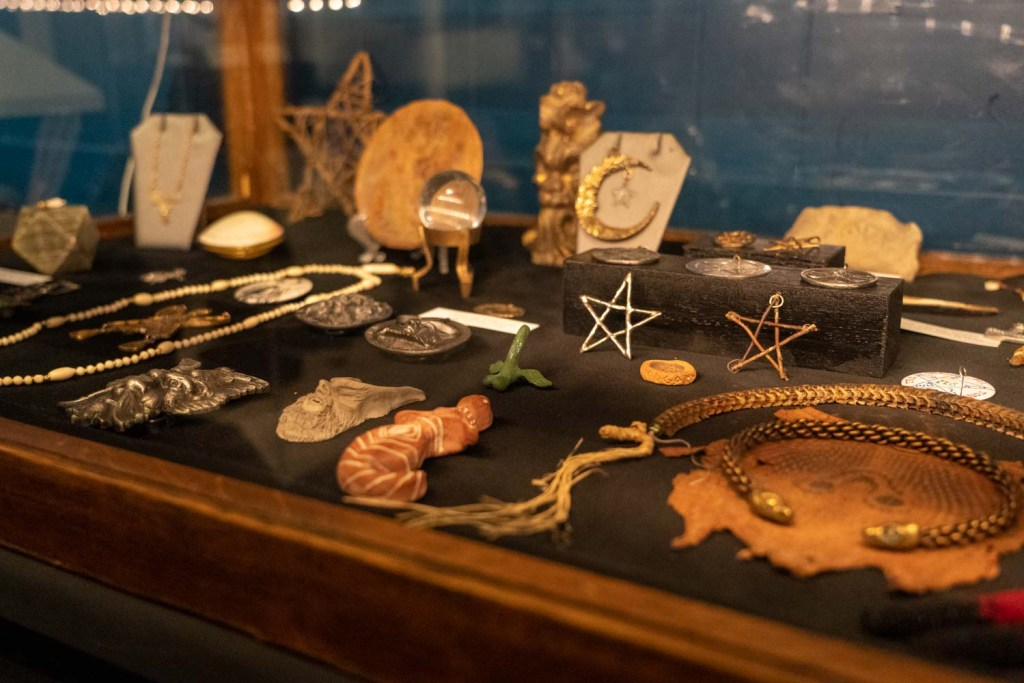 Buckland Museum of Witchcraft & Magick jewelry