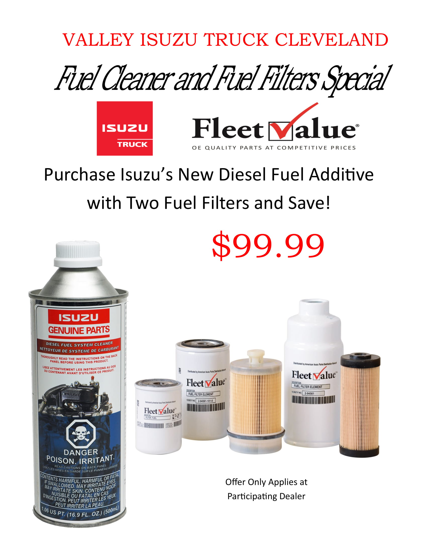 Fillable Fuel Cleaner And Filter Ad