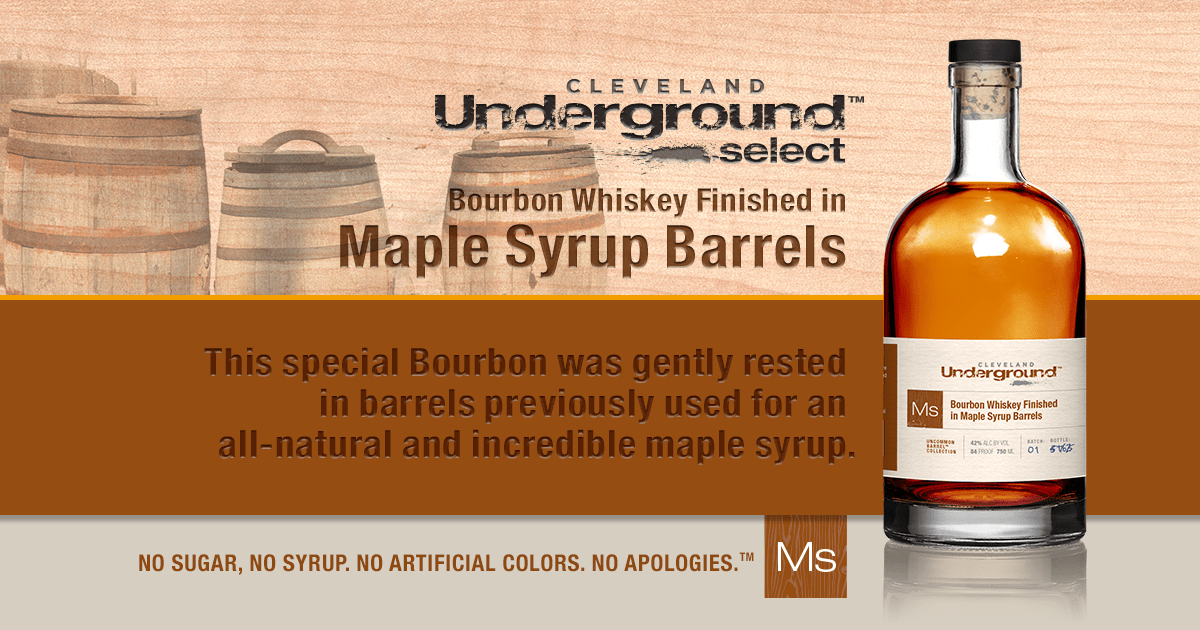Release Party  Bourbon finished in Maple Syrup barrel
