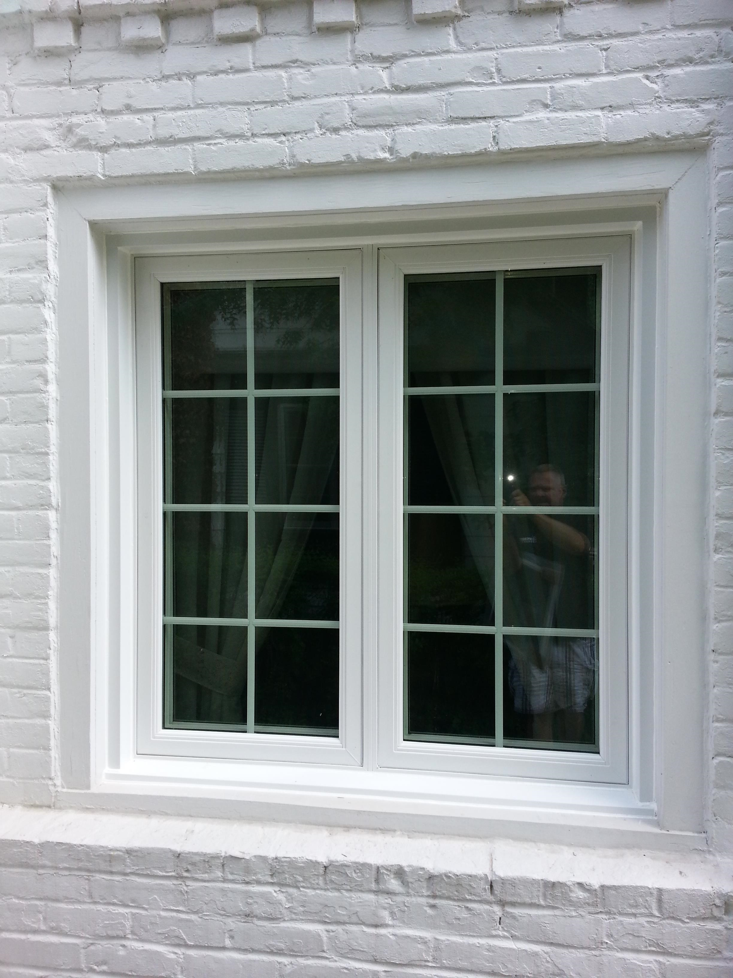 Casement windows cleveland for Double casement windows