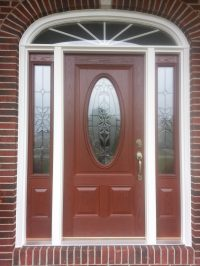 Sidelight Door & Priceless Replacement Front Doors Front ...