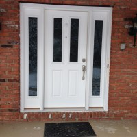 Door Sidelites & Exterior Mahogany Door With Sidelights
