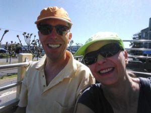 Frauke und Michael, unterwegs im Kastenwagen
