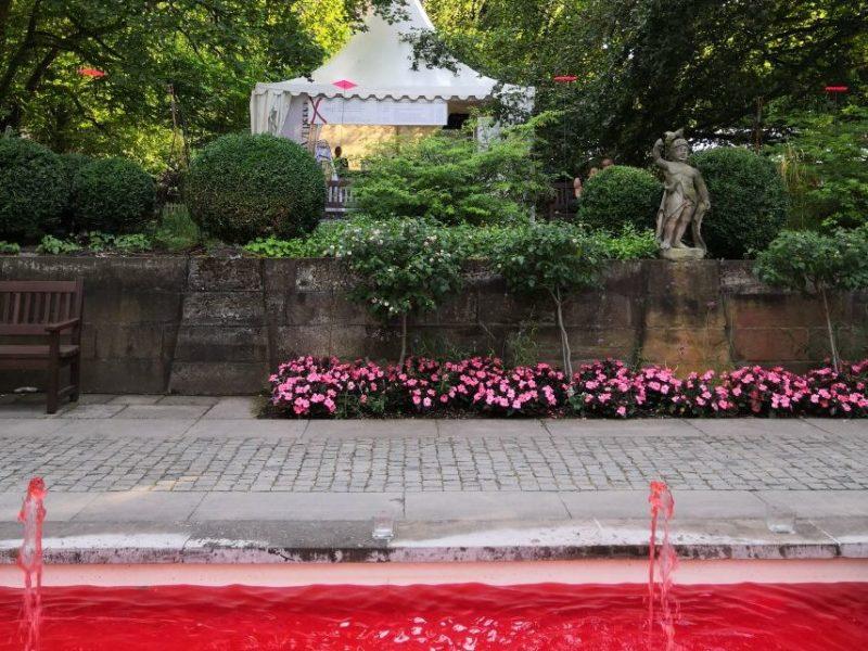 Blutbrunnen bei den Nibelungen-Festspielen