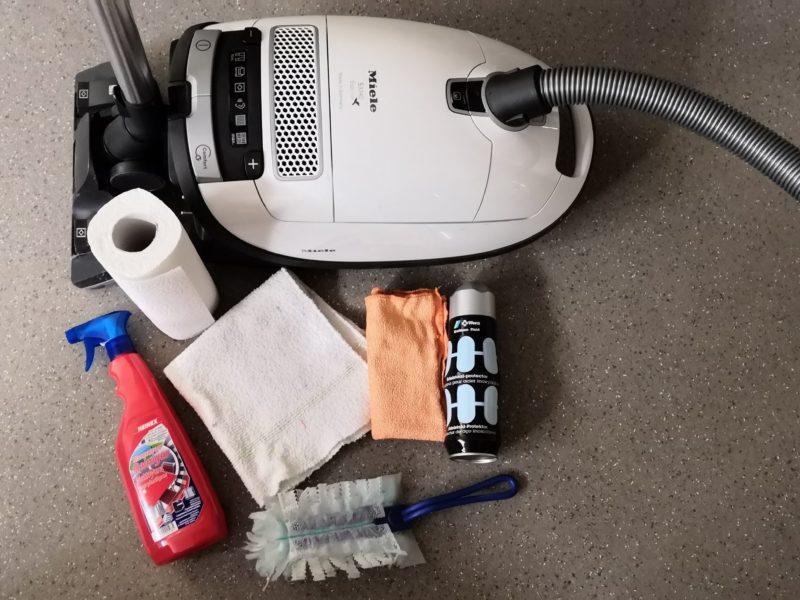 Putzutensilien für das Wohnmobil