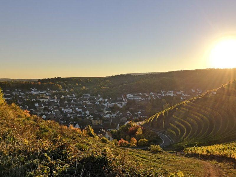 Blick vom Johannisberg, Wallhausen