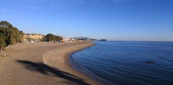 Strand von Bolnuevo