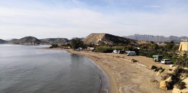 Playa de los Cocedores bei Águilas