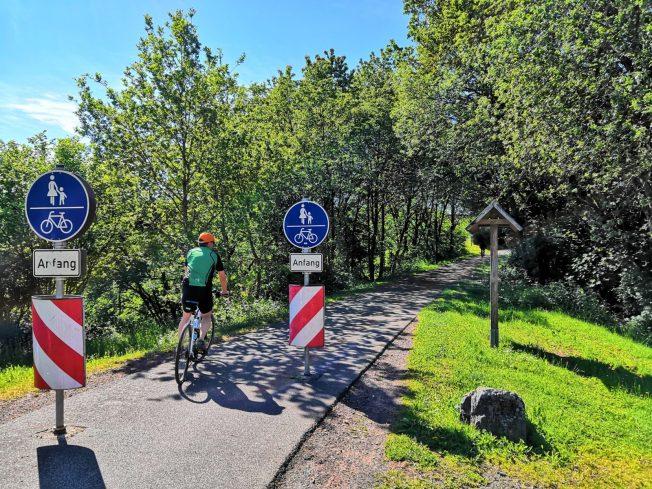 Unterwegs auf dem Maare-Mosel-Radweg