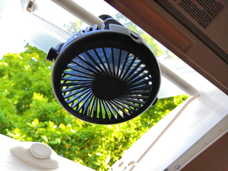 USB-Ventilator gegen Hitze im Wohnmobil