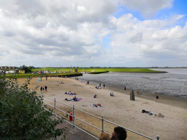 Der kleine Strand in Dangast