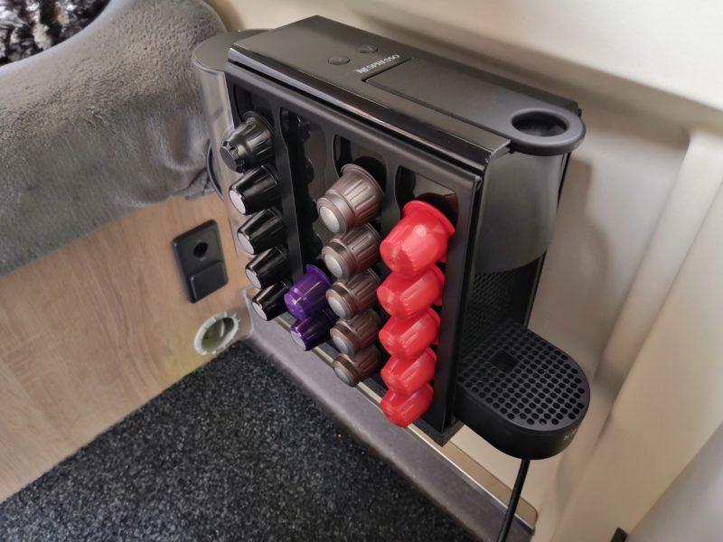Nespresso Maschine sicher im Wohnmobil transportieren und nutzen